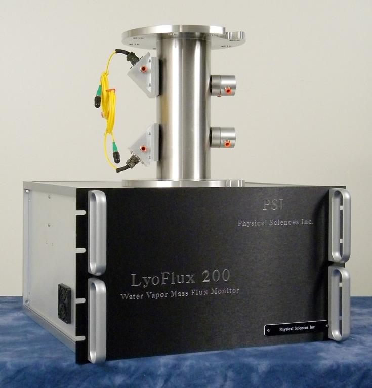 LyoFlux™:  Tunable Diode Laser Absorption Spectroscopy (TDLAS) Water Vapor Mass Flow Rate Sensor