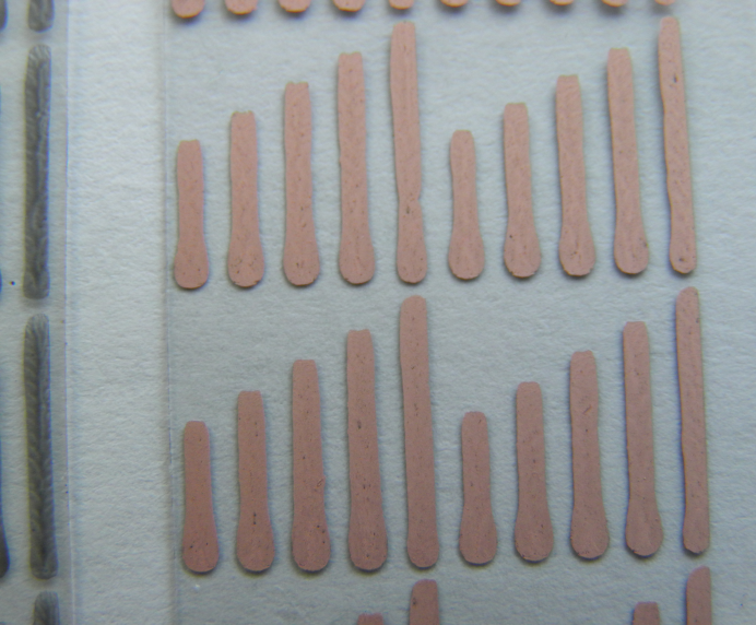 Copper coating on silver nanoparticle ink printed onto a film substrate